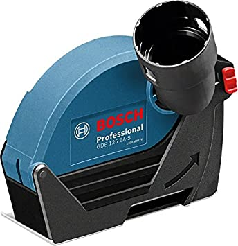 Bosch Professional GDE 125 EA-S - Caperuza de aspiración (para amoladora Ø disco 125 mm): Amazon.es: Bricolaje y herramientas