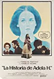 The Story of Adele H 1975 Argentine Poster