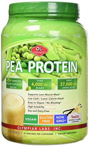Olympian Labs Vanilla Pea Protein, 736 Grams, 20 servings