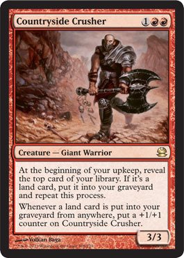 Magic: the Gathering - Countryside Crusher - Modern - Store Countryside