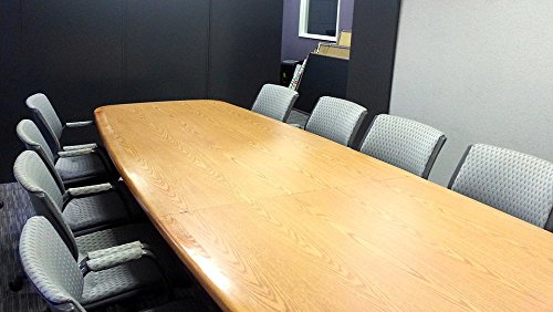 Print on Metal Business Table Conference Meeting Conference Table Print 12 x 18. Worry Free Wall Installation - Shadow Mount is Included.