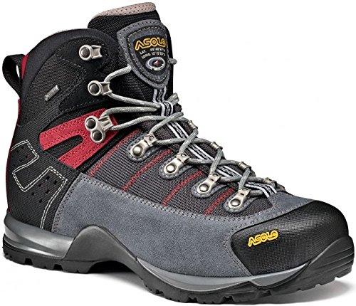 Asolo Men's Fugitive GTX Hiking Boots (Grigio/Gunmetal, 10.5)