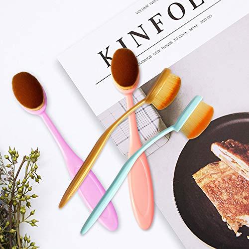 5Pcs Colorful Craft Ink Blending Brushes Set Blending Paper Assortment Crafter