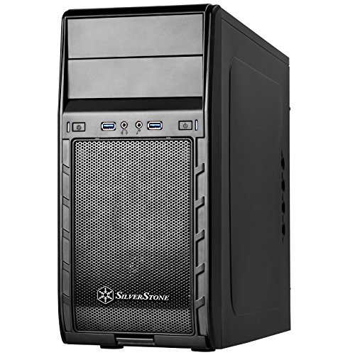 SilverStone Technology Computer Case CS-PS12B Black ()