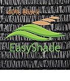 Easyshade 40% Sunscreen Black Shade Cloth UV Fabric (6ft x 20ft)