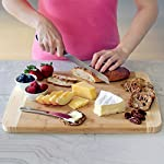 Extra Large Bamboo Cutting Board for Kitchen with Juice Groove - 17.5 x 13.5 x 0.75 inch 13 <p>BEST CUTTING BOARDS FOR KITCHEN & FOR YOUR KNIVES! ❤️Jumbo oversize design bread cutting bosrd cutlery cuttig cutting bords cuttimg curting cuttinf cutting bored mothers day kitchen cuting cutting boad cuttting cutting broad cuttong personalized baboo cutting bpard non slip woodcutting bambo cutting citting cuttibg cutting boarf mothers day cutting briskit cutting cutting valentines day cuttingg cuttng wood cuting wood cutring wood cuttig cutting boads cuttong cuttung wooden cuttin wooden cutting boatd bamboo cuting bamboo cuttimg bamboo cutting bosrd briskit cutting catting chopping light weight chopping one hand cutitng cuttibg cuttign anti slip cutting latge cutting woode cutting xl xxlarge light weight dont slip cutting obard cuttinng cuttung set woden cutting wood cutting biard wooden cuting woodwn cutting cutting baord cutting borad most popular items on amazon todays deals lightning deals cutring toaster ovens best rated cool stuff for women tabla para picar cocina accesorios nsf cutting boatd cutting boar cutting boars heavy duty choice cuttingboard oversized gadget small cuttingboards gadgets xl smart grooved jumbo rv handle inch well usa men green 2018 in inches chicken feet raw oven stuff most ovens utensil legs basics oversize toaster medium free Brisket valentines cuttong cooking platter holder end xxl beech bord dad silent stovetop camper parents voard wood wooden wedding registry by brides name charcuterie butcher block wood cutting kitchen essentials cutting oil noodle huge giant chef carving with juice grooves turkey carving platter turkey carving spikes turkey shaped cutting charturie charqueterie tabla para quesos charcuterie plates outdoor fresh nsf entertaining serving dishes soft 18x13 18 x 13 grilling easy to clean cutting board microbial certified single hand made handmade best heavy duty king camping dad man men vegan bacteria anti mold comercial commercial network handcrafted hand crafted ridged sale seal one piece anti slip LOVE OUR CUTTING BOARDS FOR KITCHEN or YOUR MONEY BACK, Guaranteed! We stand behind our bamboo cutting board 100% If anything is wrong with your heavy duty cutting board Contact Us directly and give us a chance to make it right! 100% SAFE FOR FAMILY! Eco friendly bamboo cutting board with natural antimicrobial properties and already coated with food grade mineral oil. Renewable, formaldehyde-free, BPA free and no chemicals used during production makes this a perfect choice for your family and the environment. Do Not Place In Dishwasher! KNIFE FRIENDLY! Cutting board won't dull your expensive knife set when you carve turkey, chop vegetables, prep steak meat, roast beef, cooking bbq brisket, slice cheese, cut pizza, fish or other cool food meal stuff. Top choice for cutlery utensil as compared to other noodle, teak, hard plastic or thick hardwood end grain cutting block. DEEP JUICE GROOVE! This rectangle turkey carving platter holds up to 2 oz. of liquid keeps juices from spilling all over your kitchenware counter. The oversized bambu drip well catcher is great to cut turkey, chopping juicy veggies or fruit. HAPPY COOKS ranging from home cooks to professional chefs at restaurants, commercial kitchens, caterers and bakeries. Comes in a gift worthy package for mom, perfect for any occasion like Valentines's Day, Thanksgiving, Bridal Shower, Housewarming, Birthday, House Warming Presents search Wedding Registry Ideas by Brides Name.</p>