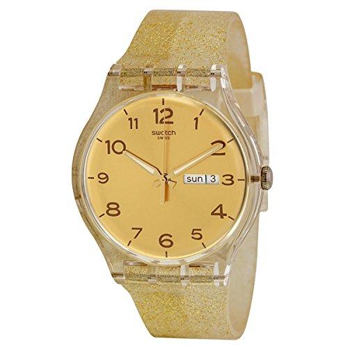 SWATCH watch NEW GENT GOLDEN SPARKLE SUOK704