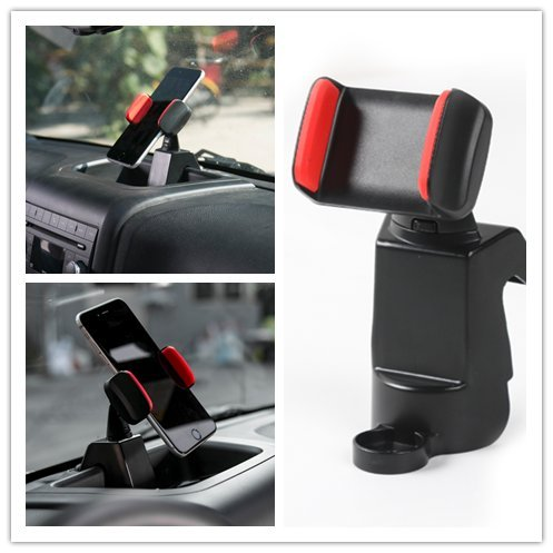 Highitem Car Cell Phone Bracket Dash Mount Holder Fit For Je