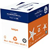 Hammermill Paper, Inkjet Multipurpose Paper, 8.5 x 11 Paper, Letter Size, 20lb Paper, 96 Bright, 5 Reams / 2500 Sheets (105050C) Acid Free Paper