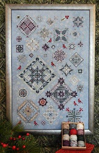 Winter Quakers cross-stitch pattern - Rosewood Manor - Karen