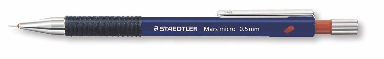 STAEDTLER portamine Mars micro a scatto per mine da 0,5 mm, perfetto per il disegno tecnico e artistico o la scrittura, 775 05 MAG_PI-W19K-KSKW