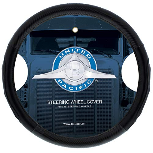 """United Pacific 70407 18"""" Carbon Fiber Style Steering Wheel Cover ()"""