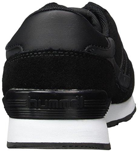 Calabrone Sneaker Unisex Adulto - Relfex Ii Tonale - Scarpe Casual In Bianco E Nero E Grigio - Scamosciato Halbschuh E Riflessione - Sneaker Super Leggero - Sneaker Tpu Nero (nero)