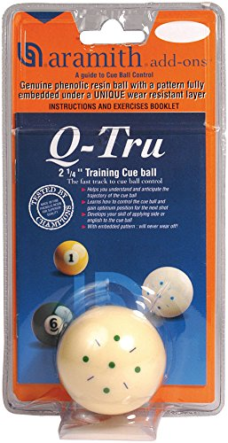 Aramith Q-Tru Training Cue Pool Billiard ()
