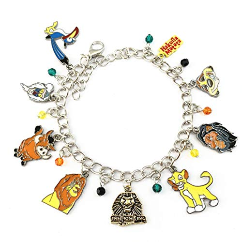 Lion Charm King Bracelet - Christmas Costume Cosplay Jewelry Gifts for Women from Blingsoul