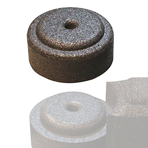 FlexiStack End Cap - Black (Mulch Border Recycled Rubber)
