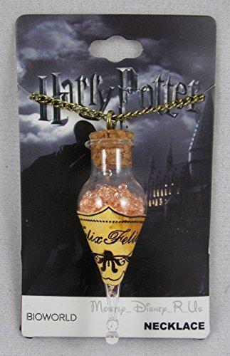 Harry Potter Felix Felicis Potion Bottle Necklace