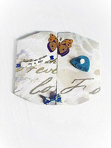Carte 3d Naissance Garcon Fait Main Originale Carte Bapteme Petit Garcon Carte Naissance Bleue Modele Unique Port Gratuit Et Enveloppe Amazon Fr Handmade