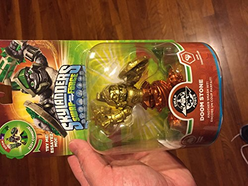 Skylanders SWAP Force Doom Stone GOLD and BRONZE Metallic Variant by