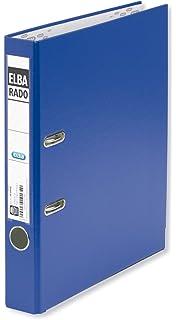 Elba Rado Plast 100022619 - Archivador palanca en PVC, A4, color azul oscuro
