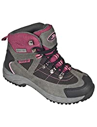 Trespass Childrens Girls Laurel Lace Up Hiking Boots