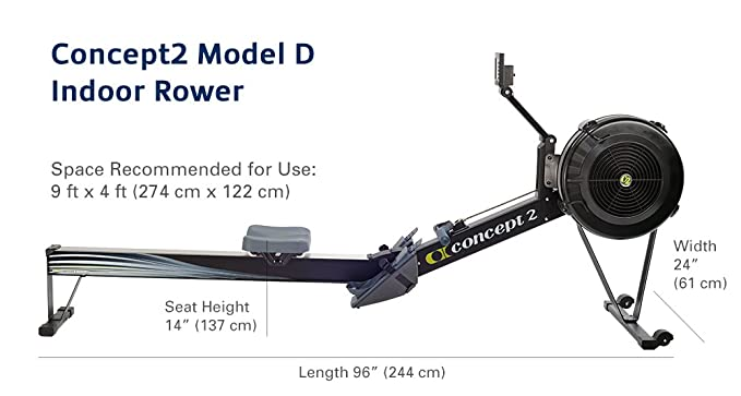 Buy concept2 model d black 2712 indoor rowing machine with pm5 buy concept2 model d black 2712 indoor rowing machine with pm5 online at low prices in india amazon fandeluxe Gallery