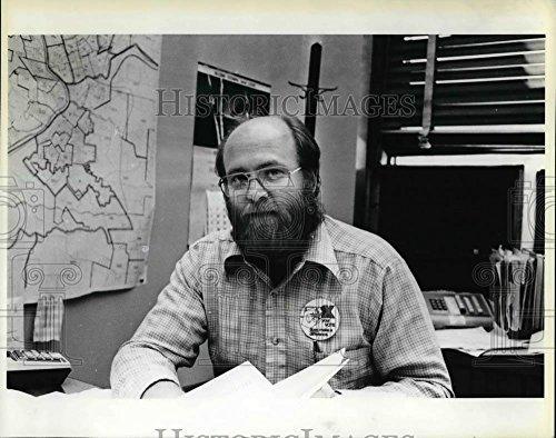1980 Press Photo John Kauffman Clacko Supervisor Elections - ora44953