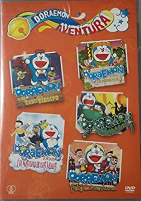 Doraemon aventuras - Pack 5 DVD: Amazon.es: Cine y Series TV