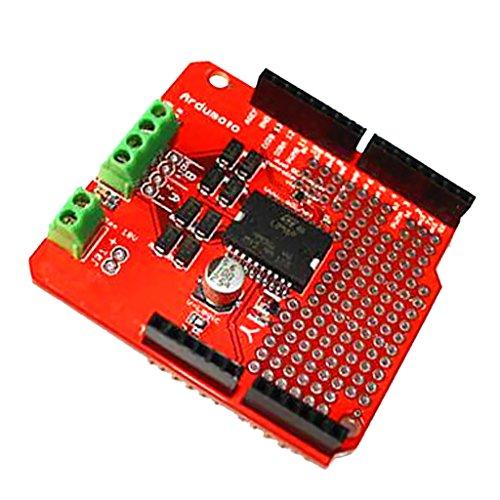 B Baosity L298Pデュアルチャネルモータードライバー、DCステッパードライバーボードの交換