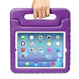 iPad MiNi 1/2/3 Kiddie Case, Grand Sky-Shockproof Case Light Weight Kids Case Super Protection Cover Handle Stand Case for kids Children for Apple iPad mini 1 / iPad mini 2 / iPad mini 3 (ipad mini 1/2/3, purple)