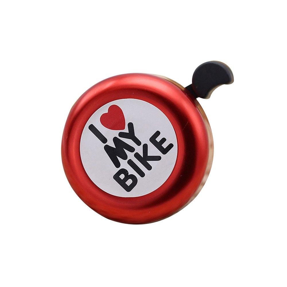 Bluelans® 'I Love My Bike' Safety Metal Ring Handlebar Cycling Bike Bicycle Bell Loud Sound