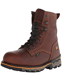Timberland PRO Men's 8 Inch Boondock Soft Toe Waterproof Work and Hunt Boot