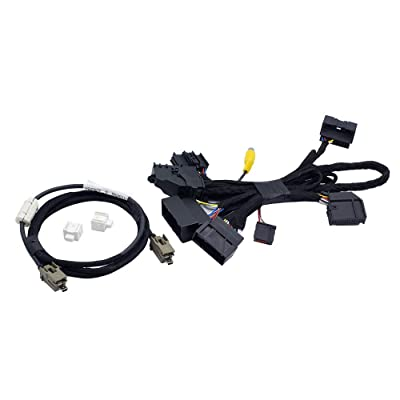 "Bestycar 4"" TO 8"" PNP Conversion Harness for Ford SYNC 1 to SYNC 2 & SYNC 3 Upgrade Fits for Ford Edge Fusion F-150 Mustang Super Duty Power Harness Adapter & USB Interface Module Adapter & APIM Cable: Home Audio & Theater"