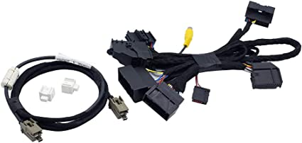 Amazon Com Bestycar 4 To 8 Pnp Conversion Harness For Ford Sync 1 To Sync 2 Sync 3 Upgrade Fits For Ford Edge Fusion F 150 Mustang Super Duty Power Harness Adapter