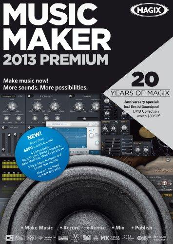 MAGIX Music Maker 2013 Premium - 2013 Maker Music Magix