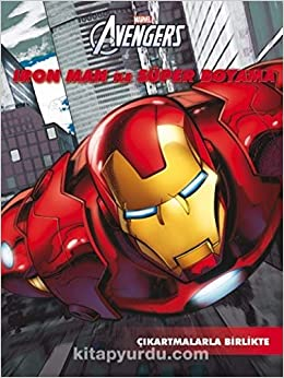 Marvel Iron Man Ile Super Boyama Kollektif 9786053337782 Amazon