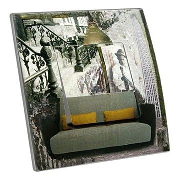 Nostalgie Lichtschalter deko lichtschalter decorupteur nostalgie up aus