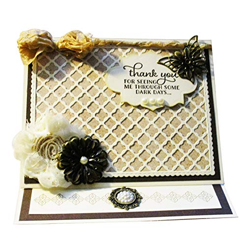 Big Cutting Dies Diamond Background for Card Making Scrapboking Valentine's Day(A) -