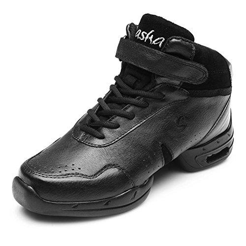 Shoes Black Roymall Dance 59 Men sneakers Soft Women's Dance and 5 58 Sneaker Modern Jazz CAB57 Leather Model azaAqr