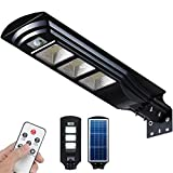 Solar Street Light 6000LM Solar Dusk to Dawn Flood