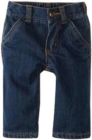 Carhartt Boys' Denim Dungaree Jeans, Worn In Blue, 3 Months