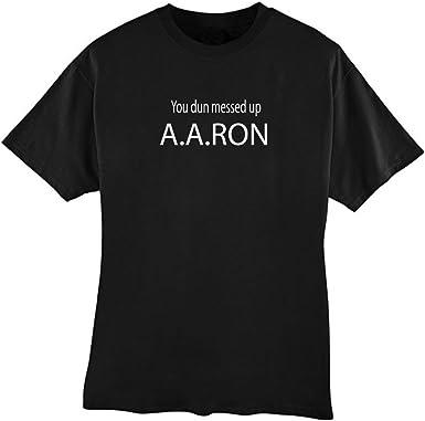 aa ron shirt