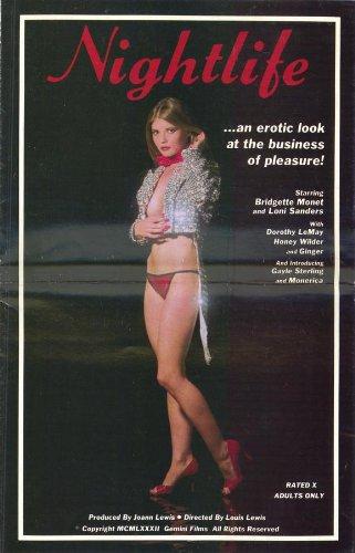 Nightlife Movie Poster (27 x 40 Inches - 69cm x 102cm) (1983) -(Bridgette Monet)(Loni Sanders)(Honey Wilder)(Ginger)