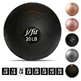 j/fit Dead Weight Slam Ball for Strength & Conditioning WODs, Plyometric and Core Training, and Cardio Workouts - 20 lb