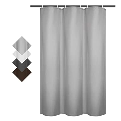 Fabric Shower Stall Curtains.Ebecede 90gsm Shower Stall Curtain 36 X 72 Fabric Shower Curtain Or Liner For Bathroom Stall And Bathtub Pale Gray