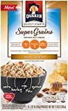 Quaker Instant Oatmeal, Super Grains, Honey Almond, 6 count,net weight 11.8 Ounce (Pack of 6) Review