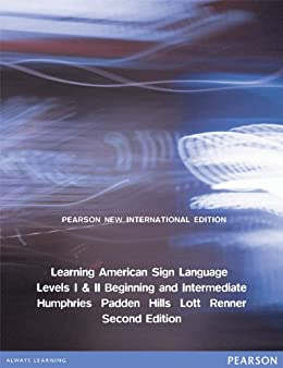 Learning american sign language pearson new international edition learning american sign language pearson new international edition levels i ii fandeluxe Images