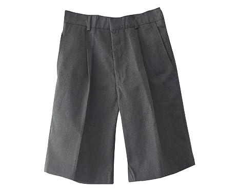 PLUS size BOYS/MENS SHORTS-S,M,L,XL,XXL,XXXL-GREY: Amazon.co.uk ...