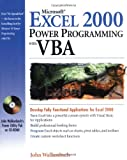 img - for Microsoft Excel 2000 Power Programming with VBA book / textbook / text book
