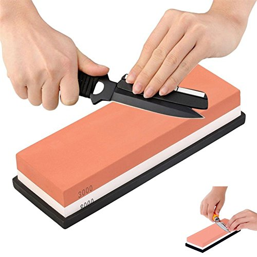 chengsale 3000/8000 Grit Dual-sided Sharpening Stone Knife Whetstone Grinding Tool